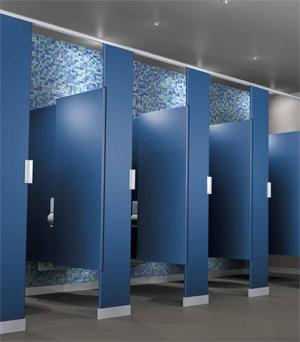Solid Plastic Bathroom Partitions - Solid plastic bathroom partitions