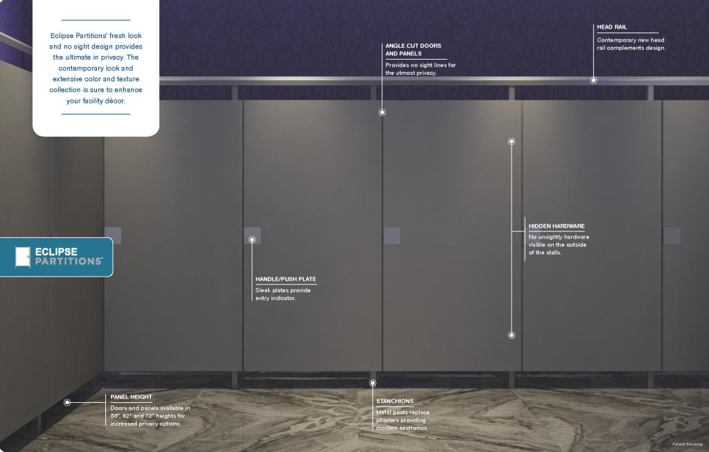 eclipse washroom partitions